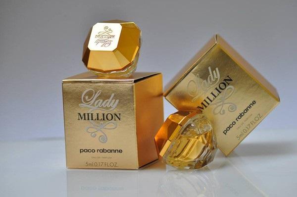 Nước hoa Lady Million sở hữu mùi hương nồng nàn, quyến rũ